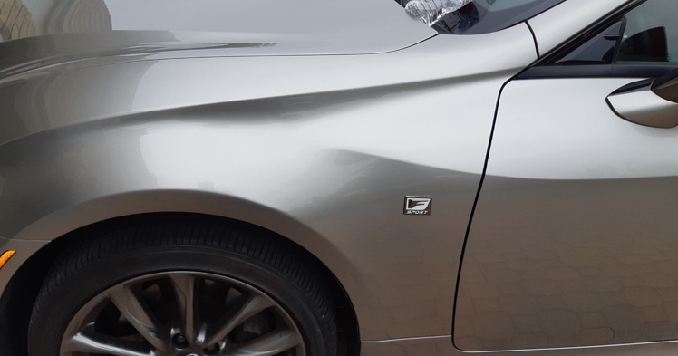 71187391_2428867110536402_972465043461373952_n Lexus Fender Dents Removed | Mobile Dent Medic Paintless Dent Repair