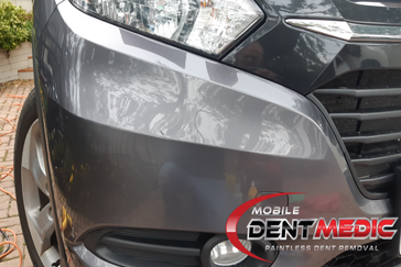 BumperDent2 Bumper Damage | Mobile Paintless Dent Repair